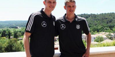 Sven y Lars Bender: Compartieron equipo en el 1860 Munich y se formaron juntos. Ahora cada uno brilla por su lado: Lars está en Bayer Leverkusen y Sven en Borussia Dortmund Foto:Getty Images
