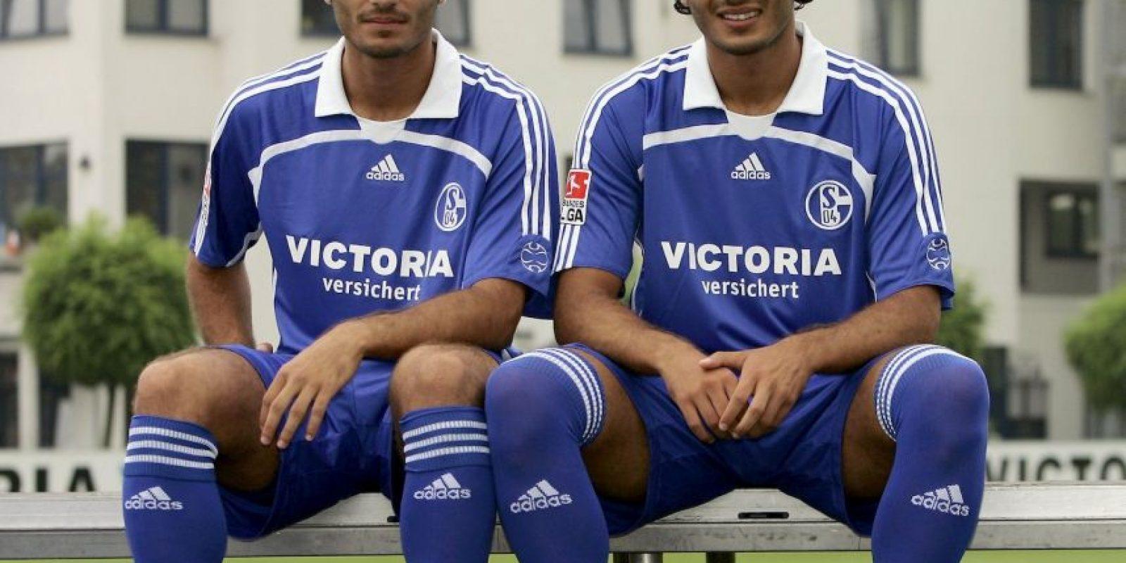 Hamit y Halil Altintop: Los turcos fueron compañeros en el Schalke 04 y ahí cada uno tomó su rumbo. Hamit llegó a jugar en Bayern Munich y Real Madrid, donde ganó gran cantidad de títulos, y actualmente está en Galatasaray. Su hermano, en tanto, milita en el FC Augsburg. Foto:Getty Images