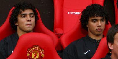 Rafael y Fabio Da Silva: Llegaron juntos a Manchester United en 2008, pero Rafael se mantuvo más tiempo y se quedó hasta 2015, mientras que Fabio se fue en 2013. Ahora, militan en Olympique de Lyon y Middlesbrough, respectivamente. Foto:Getty Images