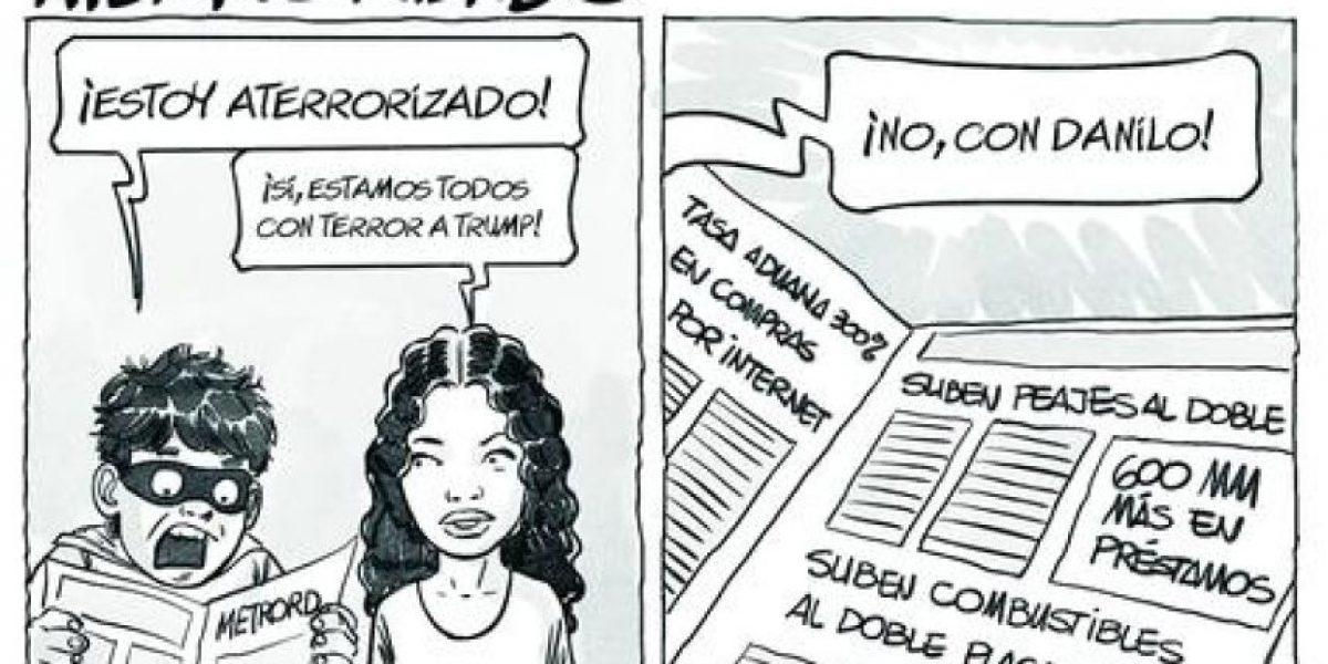 Revisa la caricatura #Incómica de hoy