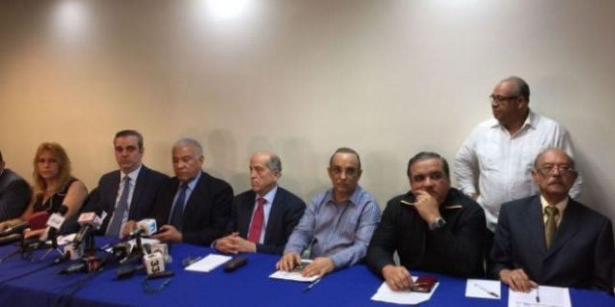 """Bloque Opositor ratifica Medina es quien ha preseleccionado """"su junta"""""""