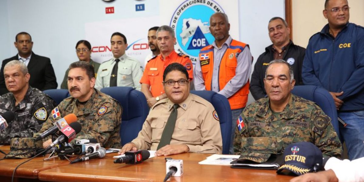 Elevan a 13 provincias en alerta; aumentan a 5,420 desplazados