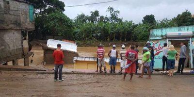 Suben a 8.000 desplazados a causa de lluvias que incomunican a 60 comunidades