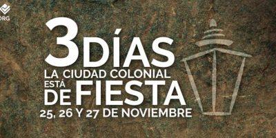 Vuelve la fiesta de la ciudad con el Santo Domingo Colonial Fest 2016