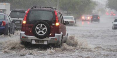 Vaguada continuará provocando aguaceros en todo el país