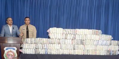 DNCD decomisa 198 paquetes de drogas en  Higüey