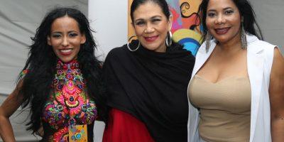 María Elena Gratereaux, Maridalia Hernández y La India Canela Foto:Fuente externa