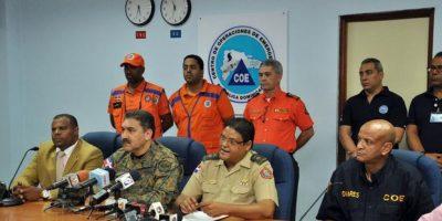 17 provincias en alerta por lluvias, 18,580 desplazados