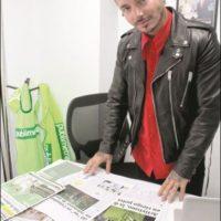 J Balvin, editor invitado Foto:Nicolás Corte/Publimetro México