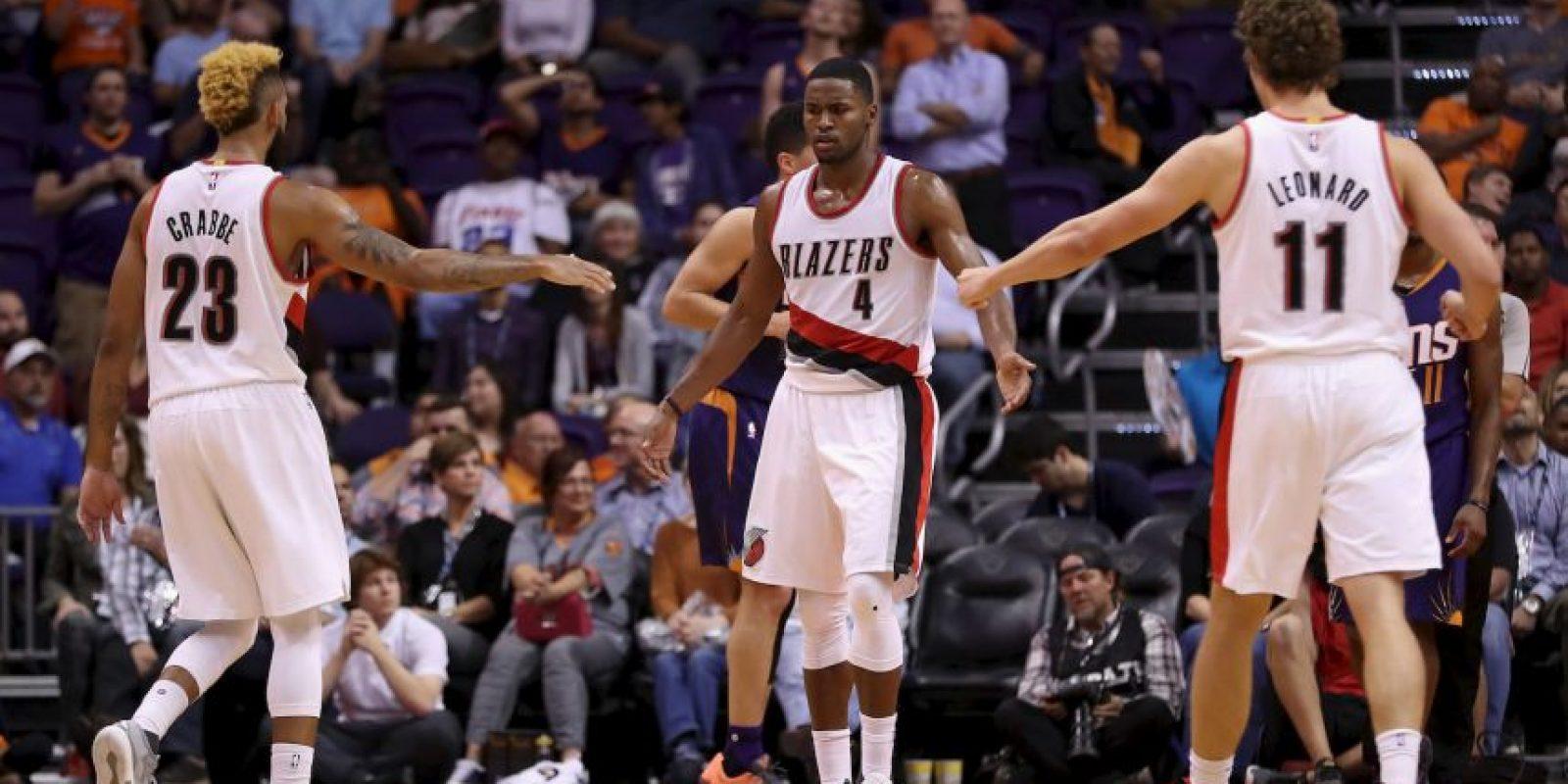 6.- Portland Trail Blazers (NBA) – 7,389,296 millones de dólares de sueldo anual en promedio Foto:Getty Images