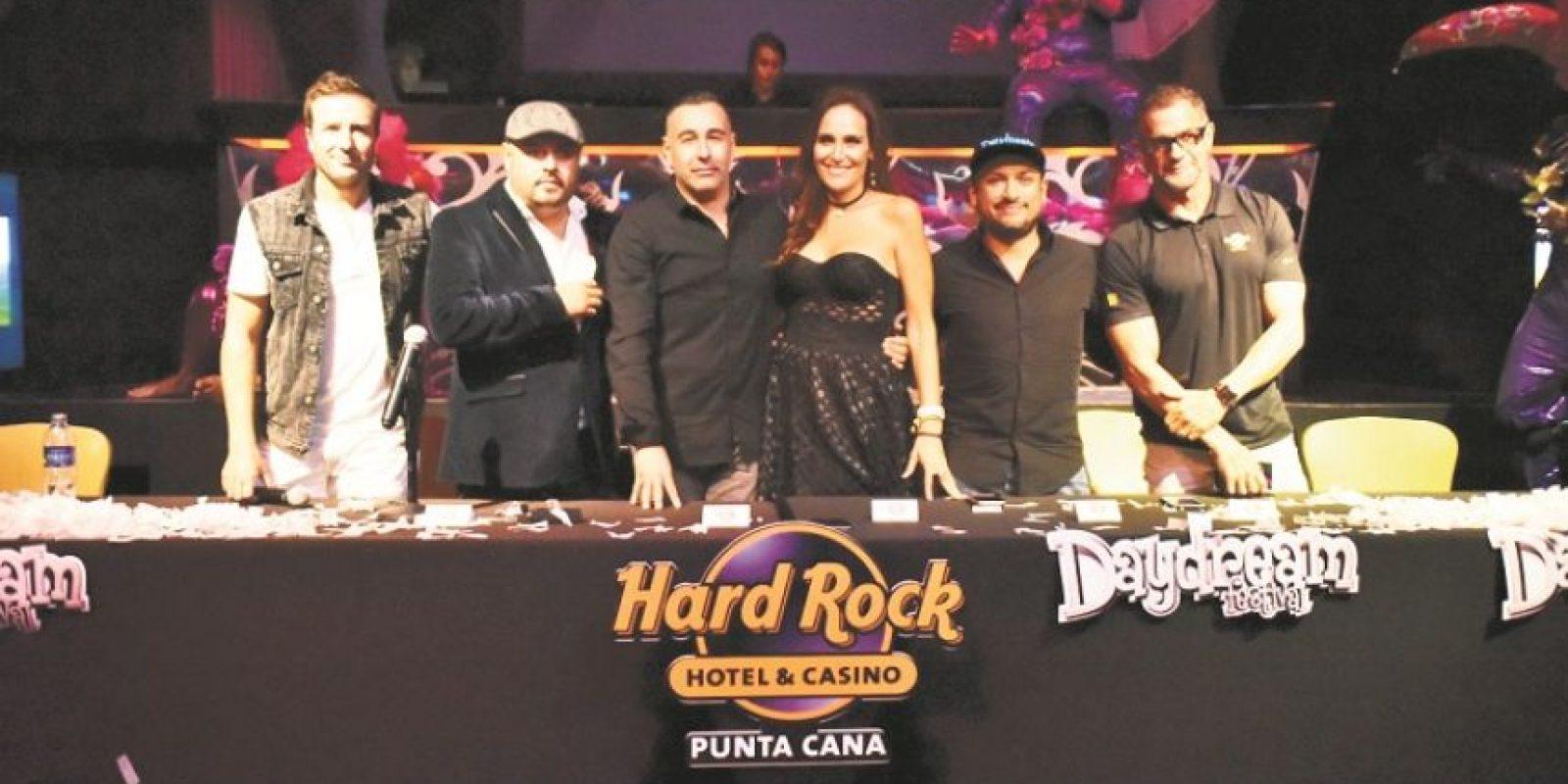 Representantes de IPSDA, Proyectos X y Hard Rock Hotel Punta Cana. Foto: Fuente externa