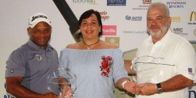 Campusano y Cohen campeones del X Torneo Benéfico de Golf de la ADR 2016