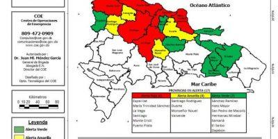 Aumentan a 22,055 los desplazados por las lluvias