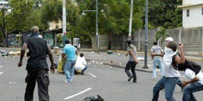 Suspenden docencia en la UASD por disturbios