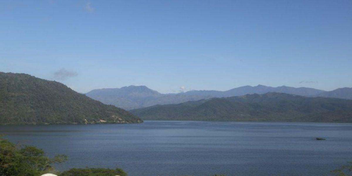 Medina entrega rehabilitada presa Sabana Yegua