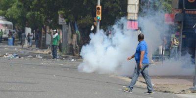 Un herido durante disturbios en alrededores de la UASD