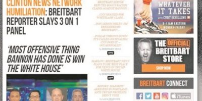 Breitbart, el portal web extremista pro Trump
