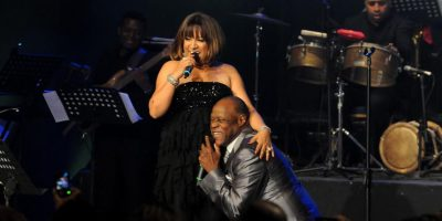 Johnny y Milly, felices de cantarle a Marc Anthony