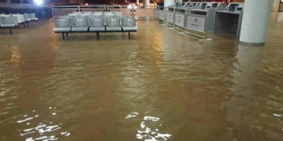 Puerto Plata sufre nuevas inundaciones este jueves