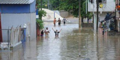 Más de 21,000 desplazados por lluvias y Medina instruye a salvar vida humana