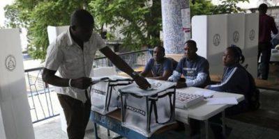 Elecciones en Haití transcurren con normalidad