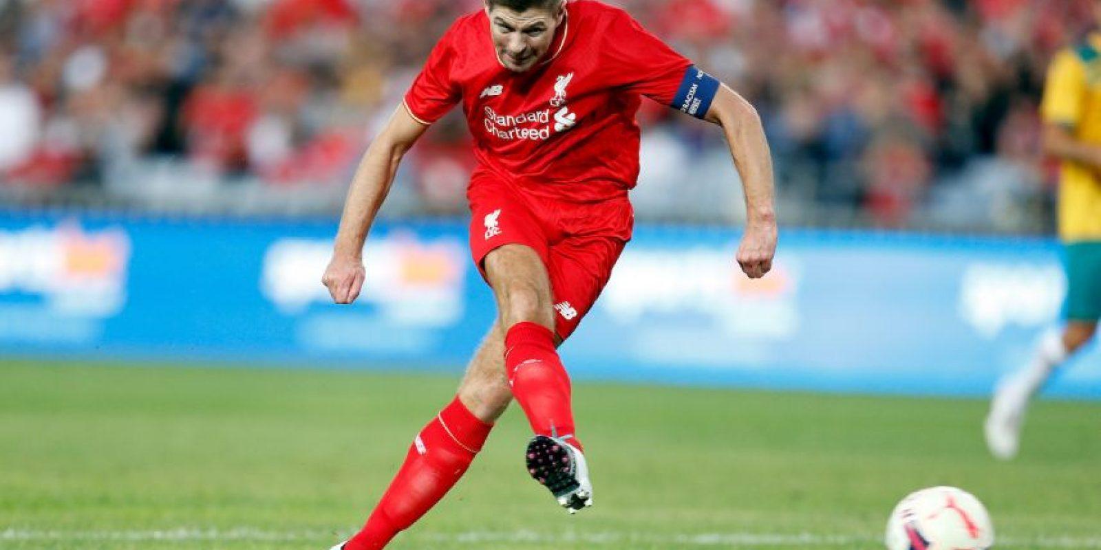 Steven Gerrard – 3 veces seleccionados Foto:Getty Images