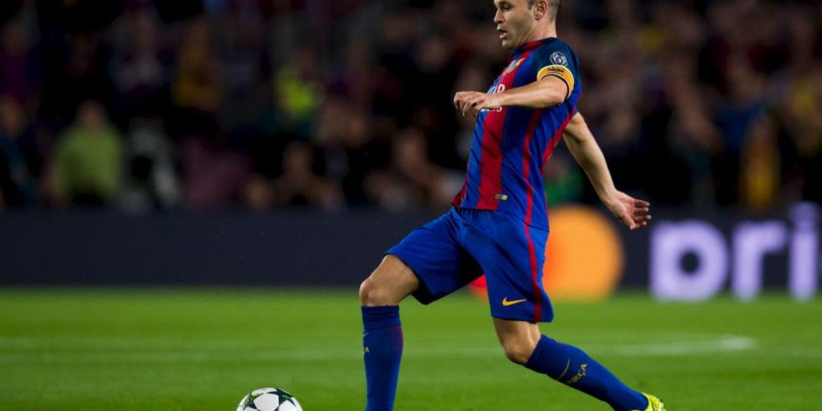 Andrés Iniesta – 5 veces seleccionado Foto:Getty Images