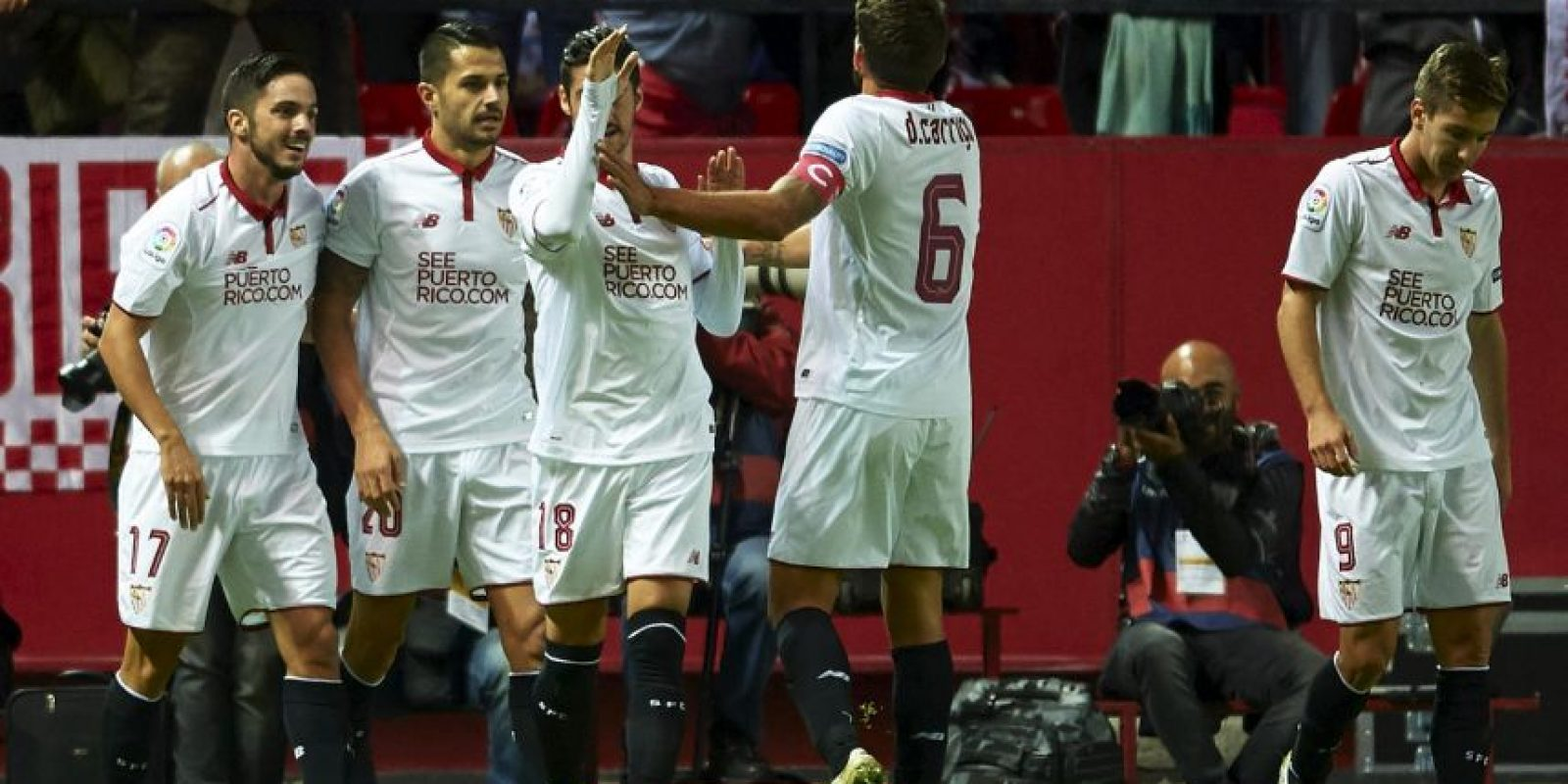 Sevilla puede sellar su paso a los octavos de final de la Champions League Foto: Getty Images