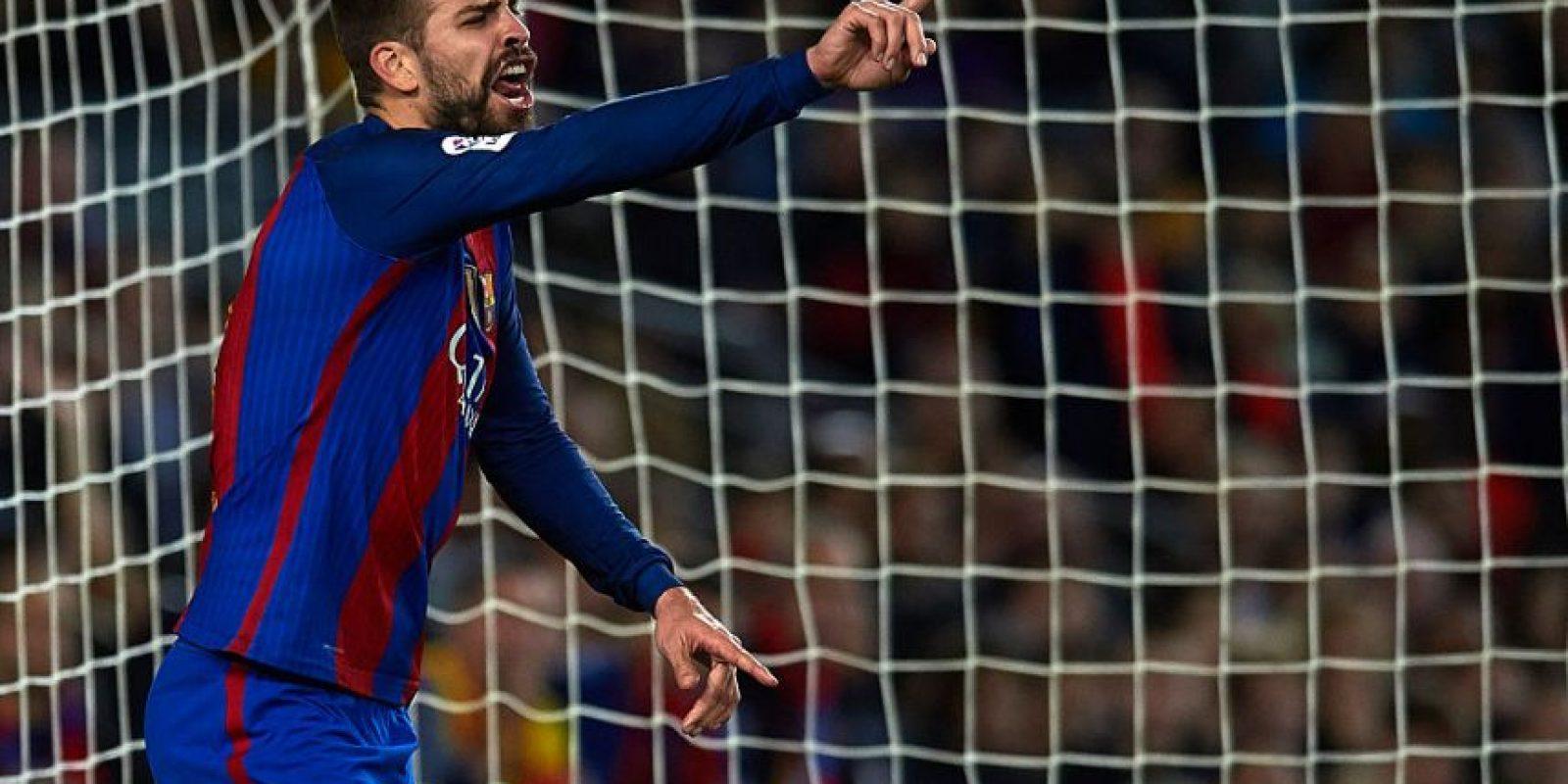 Gerard Piqué – 4 veces selecciondo Foto:Getty Images