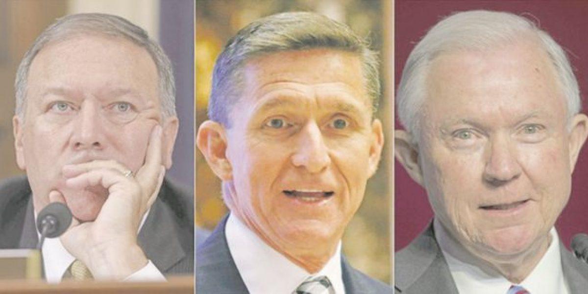 Belicosos, ultraconservadores y racistas: asesores de Trump