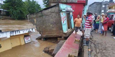 Más de 5,100 personas se encuentran desplazadas por las lluvias
