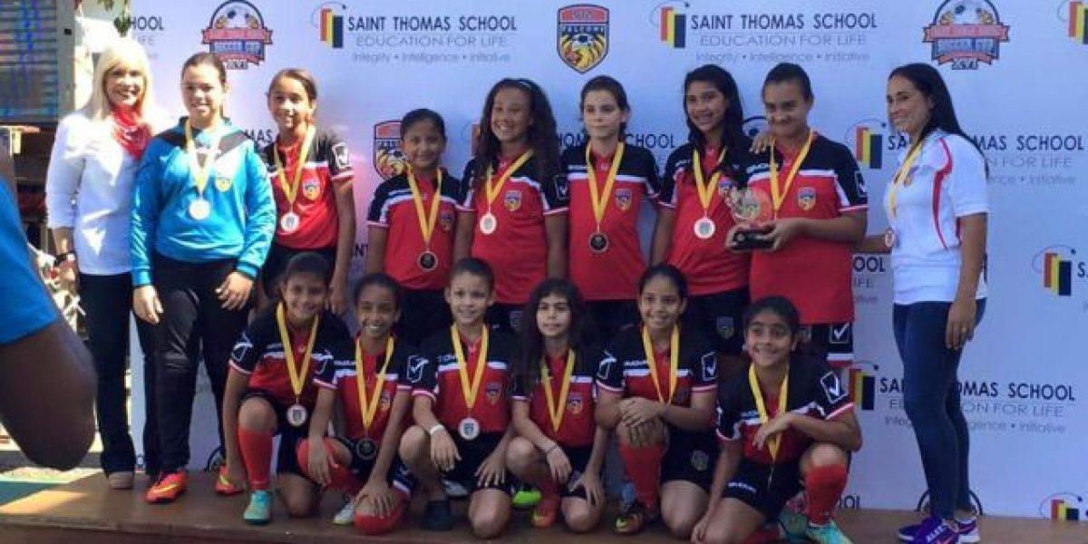 Saint Thomas School brilla en la Copa  de Fútbol 2016