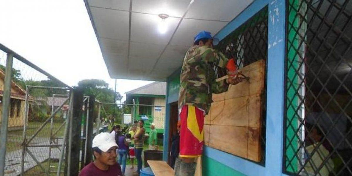 Sur de Nicaragua en alerta roja por Otto