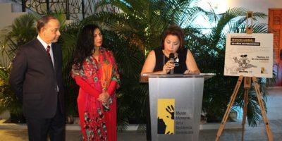 """Exposición """"Huchi Lora: 50 años de periodismo"""" Foto:Fuente externa"""