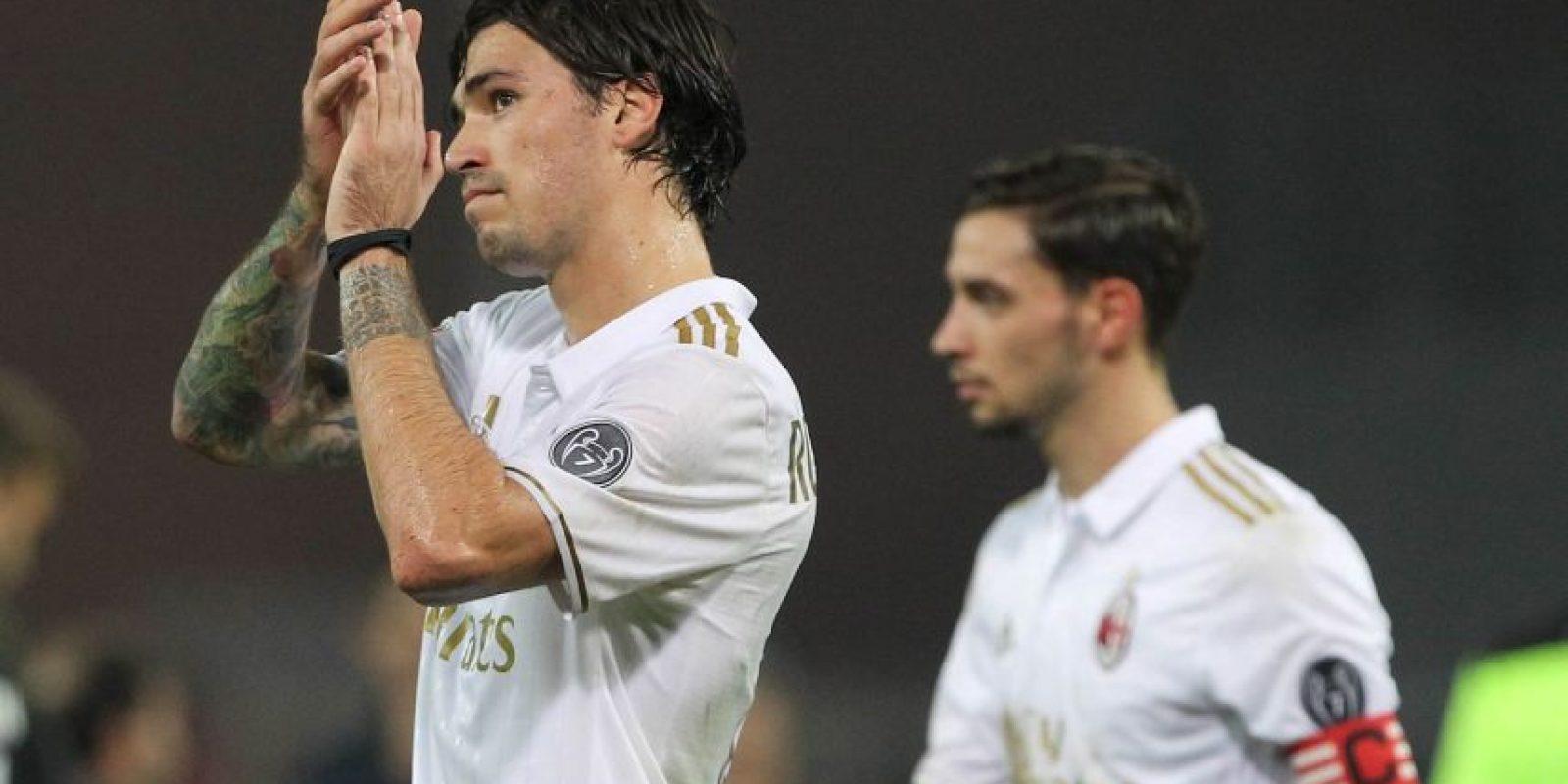 Alessio Romagnoli (defensa central) – AC Milán Foto:Getty IMages