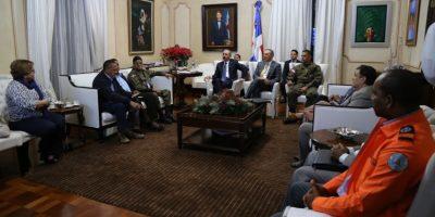 Medina reúne a funcionarios para evaluar situación presa de Tavera