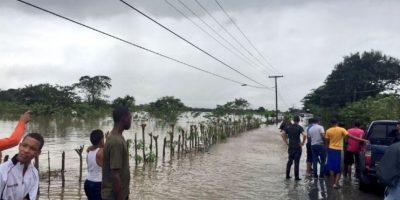 Más de 80 comunidades siguen aisladas a causa de las lluvias