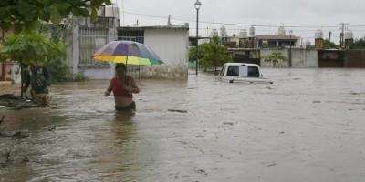 COE eleva a cinco las provincias en alerta roja por lluvias