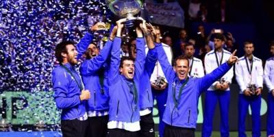 Argentina es campeón del Grupo Mundial  de Copa Davis