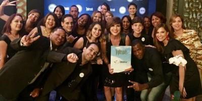 #TeVimosEn: Gestur es reconocida como Topbrands