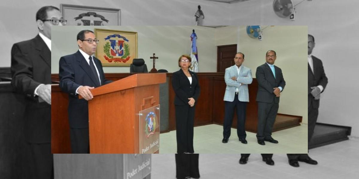 Ordenan apertura de Primera Sala del Juzgado de Trabajo de Sto Dgo