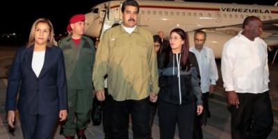 Maduro llega a Cuba para rendir tributo a Fidel Castro