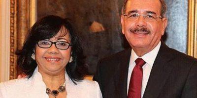 Danilo Medina y Altagracia Paulino