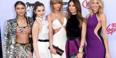 Al igual que Taylor Swift Foto:Getty Images