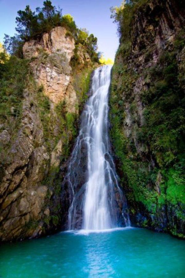 El balneario de Aguas Blancas. Foto:Cluster ecoturistico de constanza