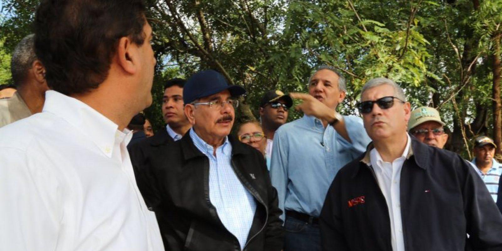 Danilo Medina en Villa Isabela Foto:@PresidenciaRD