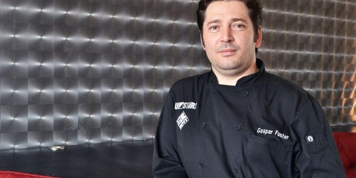 """Gaspar Fuster: """"No es lo mismo cocinar por pasión que por profesión"""""""