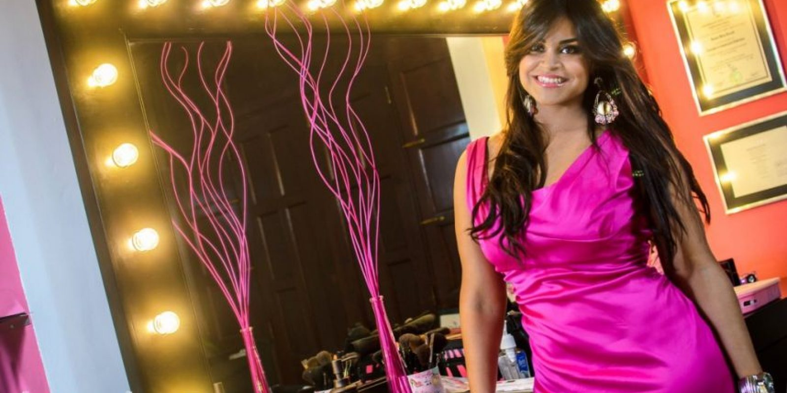 Anamía Abreu Acevedo, maquillista profesional. Foto:Fuente externa