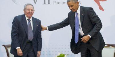 El 17 de diciembre el presidente de Estados Unidos, Barack Obama y el presidente de Cuba Raúl Castro anunciaron el restablecimiento de sus relaciones diplomáticas. Foto:AP