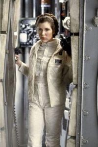 """""""Princesa Leia Organa"""" en """"Star Wars: El imperio contraataca"""" Foto:IMDb"""